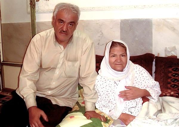 родители Мехди Эбрагими Вафа