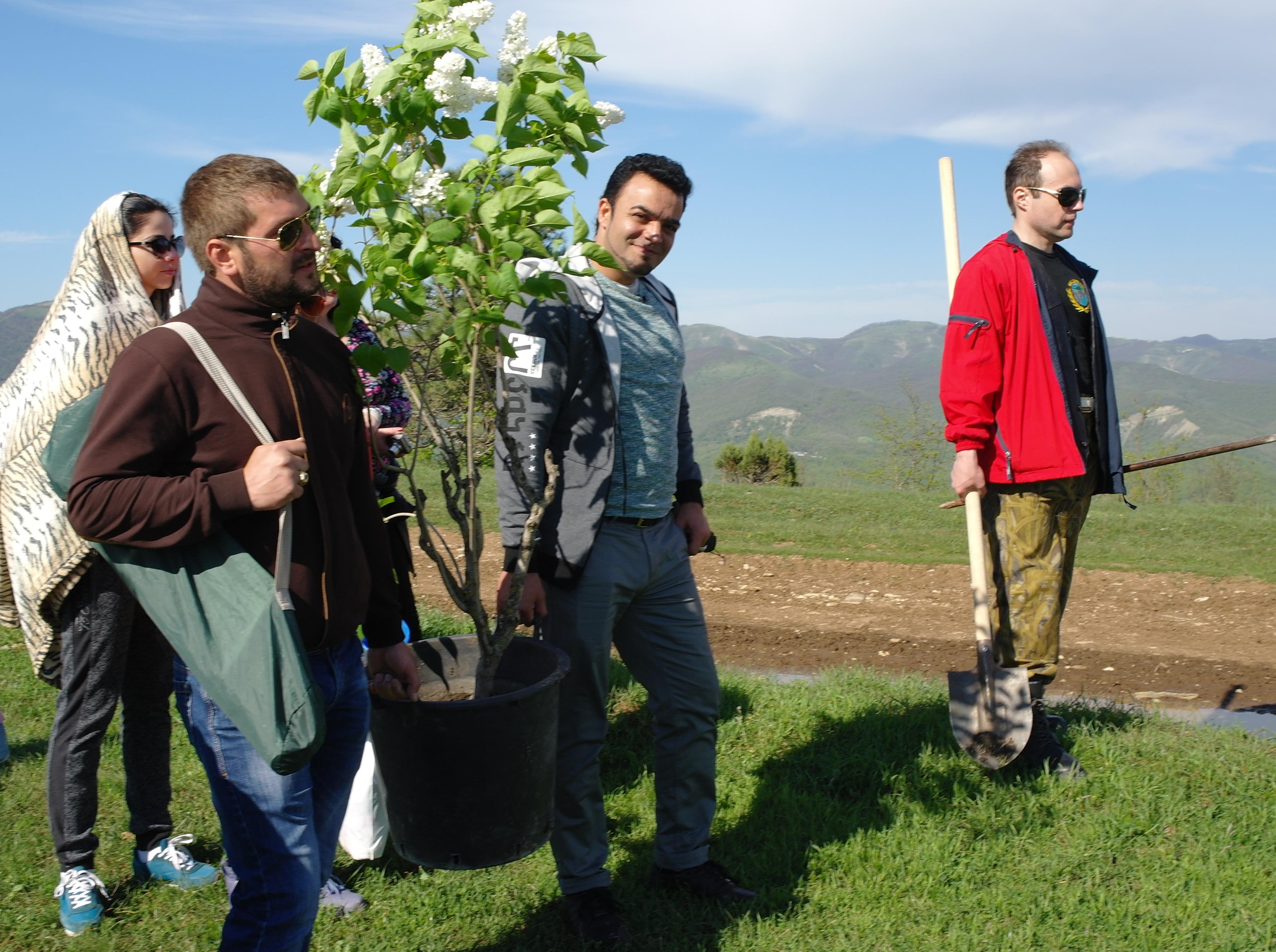 Экспедиция на дольмены с экстрасенсом Мехди Эбрагими Вафа