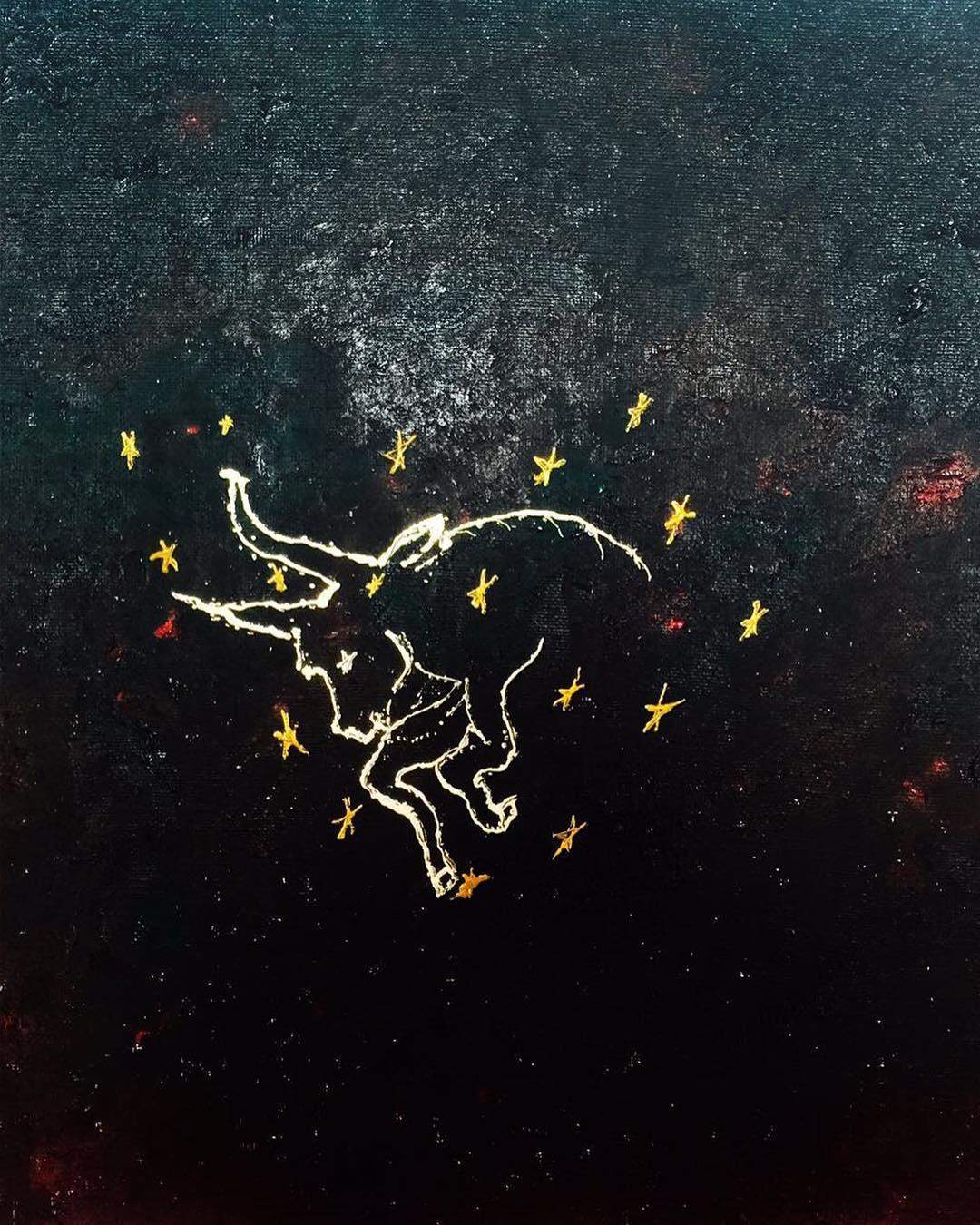 Телец-картина-оберег-защита-Мехди