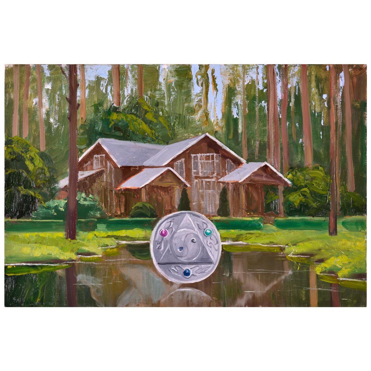 Картина Мехди Эбрагими Вафа «Гармония». Галерея искусств «Жуковка Арт»
