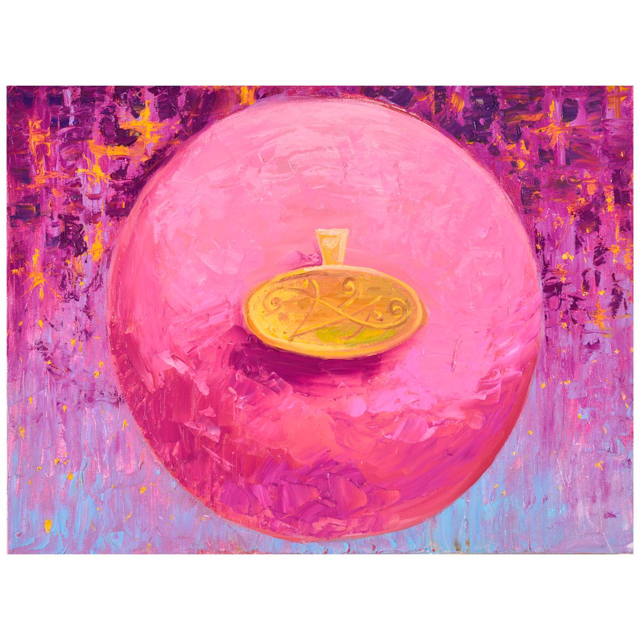 Картина Мехди Эбрагими Вафа «Преданность». Галерея искусств «Жуковка Арт»