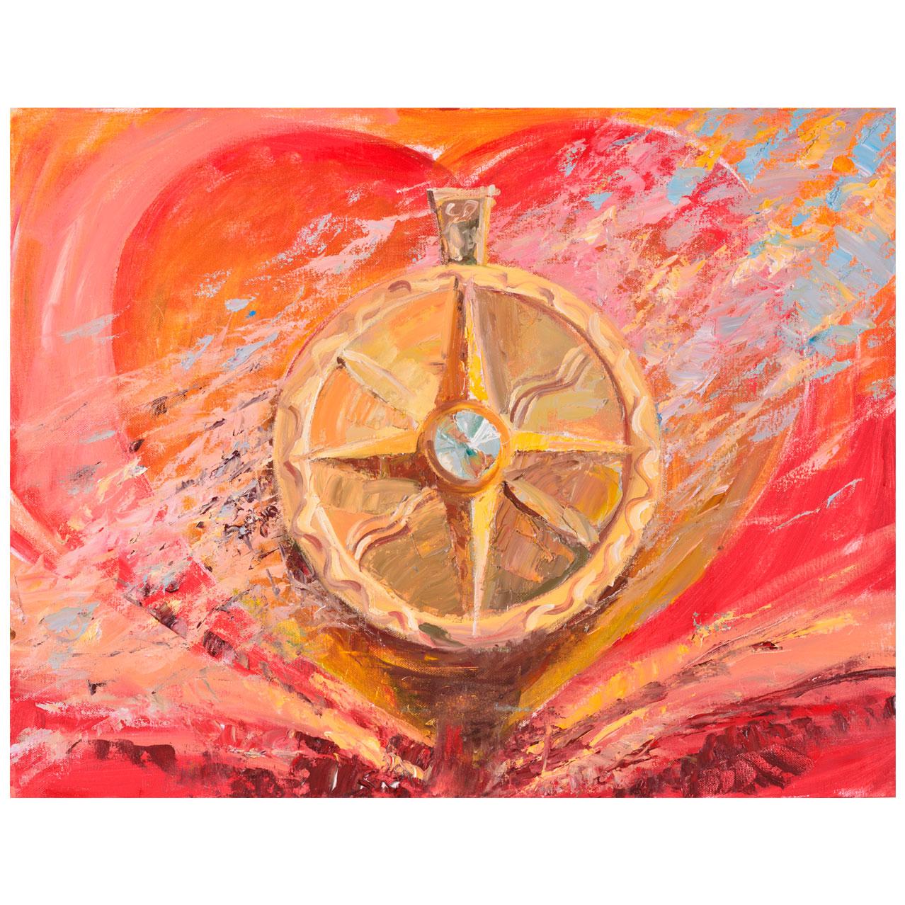 Картина Мехди Эбрагими Вафа «Сила мудрости». Галерея искусств «Жуковка Арт»