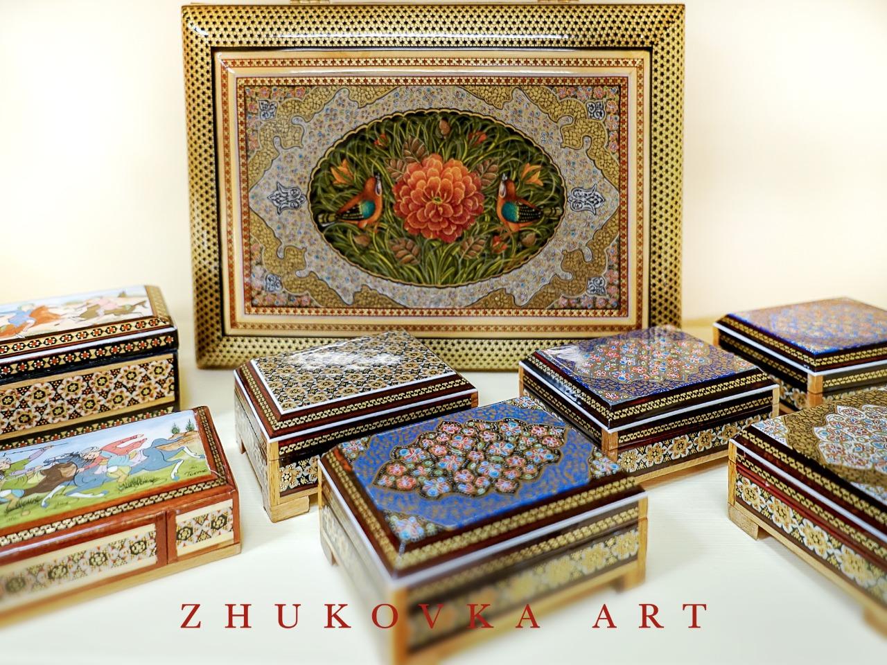 шкатулки-жуковка-арт-иран-исфахан