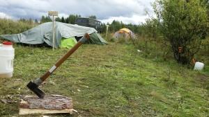 Тихий час в лагере.
