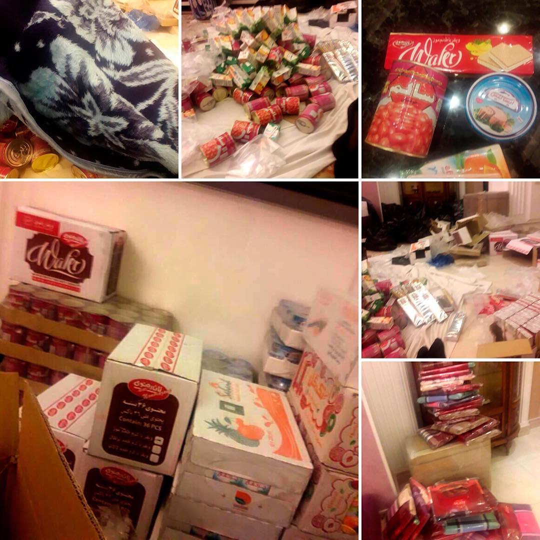 Помощь семьи Мехди пострадавшим от землетрясения в Иране