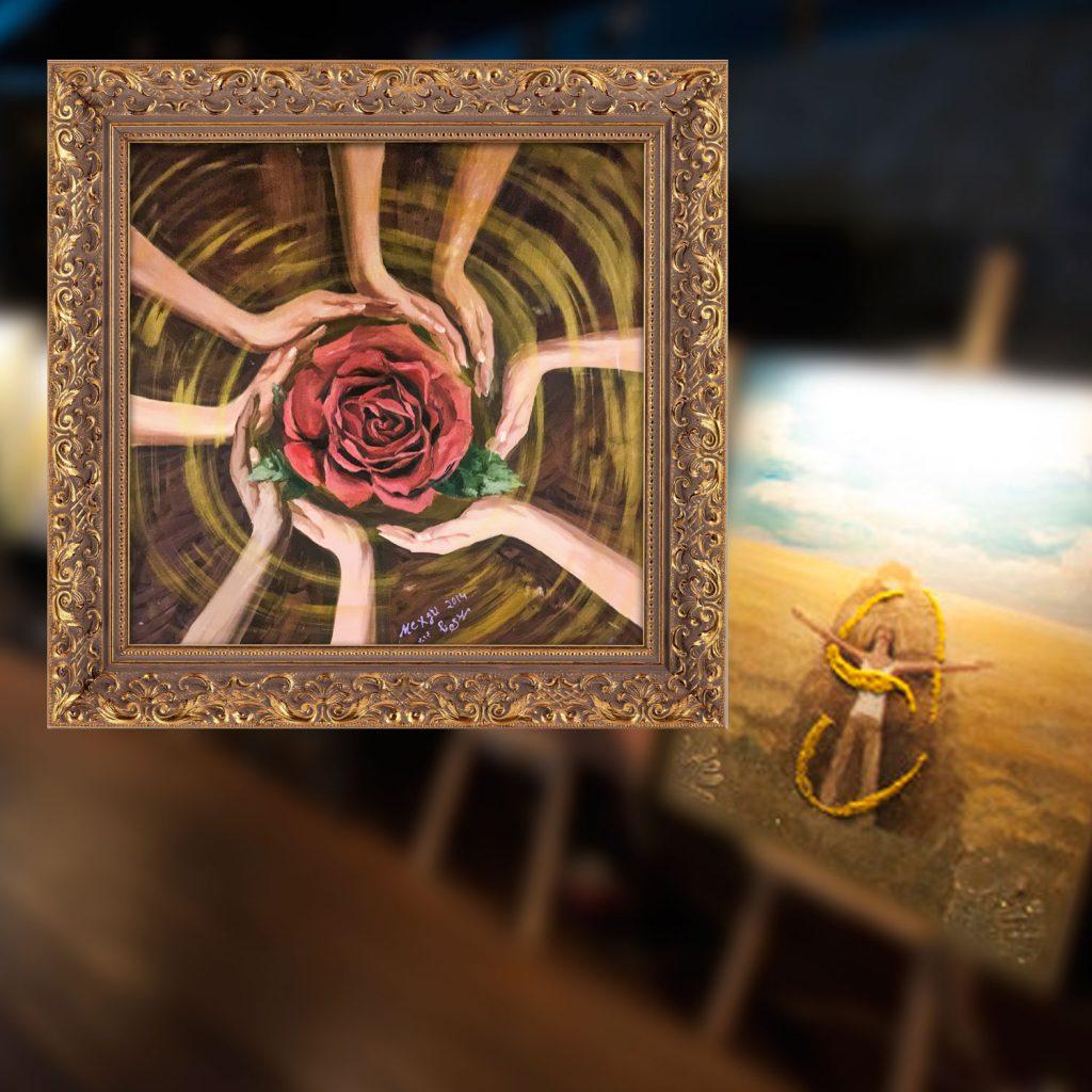 Картина Мехди Эбрагими Вафа «Будущее в твоих руках»